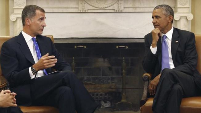 Obama se reúne con el Rey de España
