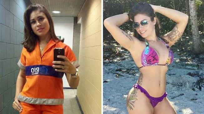 Sexy barrendera brasileña enciende las redes
