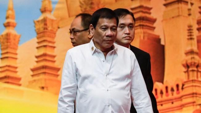 Presidente filipino dice que lamenta haber insultado a Barack Obama