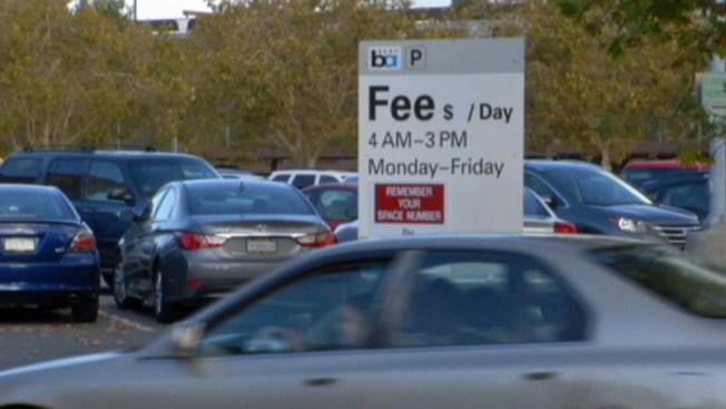 Más caro estacionar en el BART