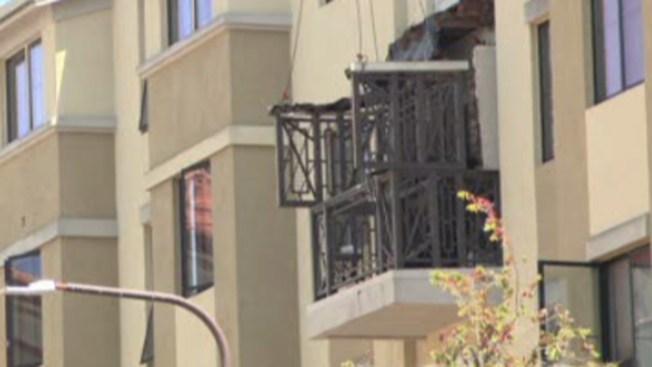 Identifican a víctimas por colapso de balcón