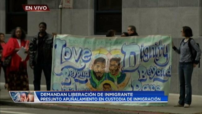 Piden liberación de inmigrante presuntamente apuñalado