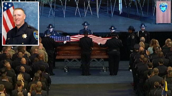 Último adiós al sargento Scott Lunger