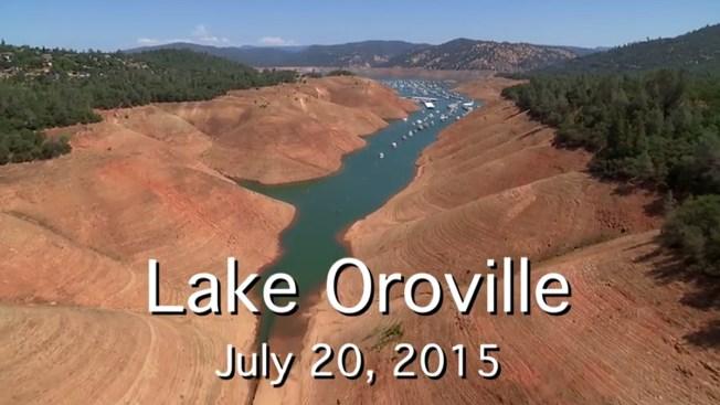 Se evapora el agua en California