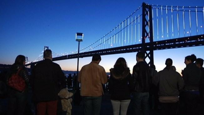 Hasta luego a las luces del Bay Bridge