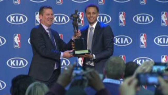 Stephen Curry, el más valioso de la NBA