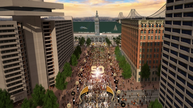 "Llega a San Francisco ""Super Bowl City"""