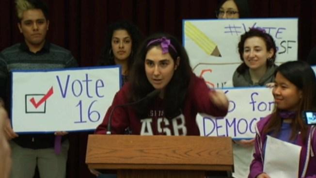 SF: Buscan extender el voto a jóvenes de 16 y 17