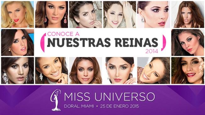 Miss Universo ¡Vota por tu favorita!