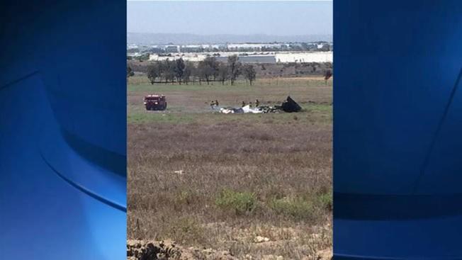 San Diego: mueren cuatro en accidente aéreo