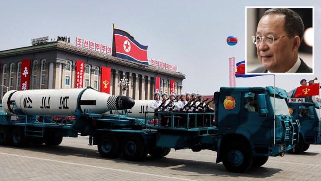 """Corea del Norte amenaza con """"hacer llover fuego"""" sobre EEUU"""