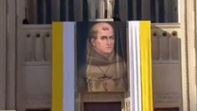 Junípero Serra es santo, primer hispano en EEUU