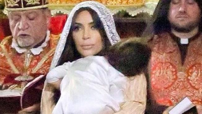 Kim Kardashian bautiza a su hija en Jerusalén
