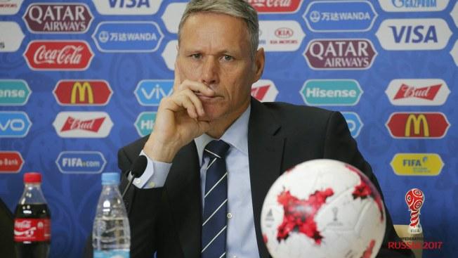 FIFA implementa 'máscaras' de apoyo en Copa Confederaciones