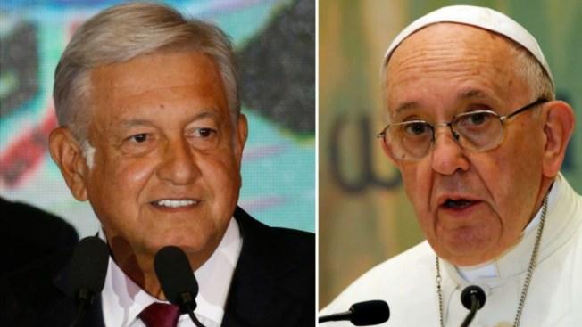 AMLO envía invitación a México al papa Francisco
