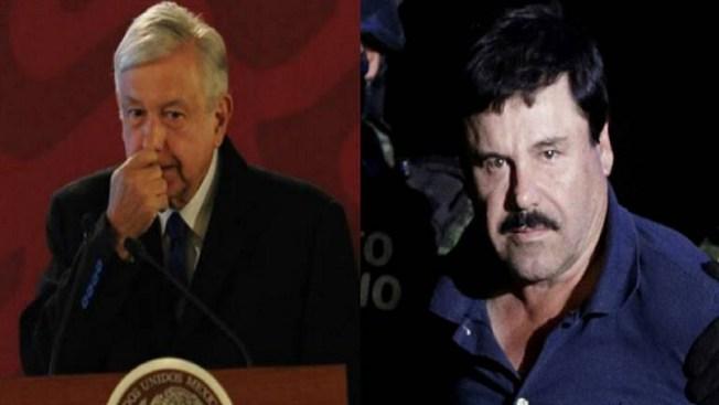 """AMLO gestiona que fortuna del """"Chapo"""" regrese a México"""