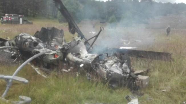 Siete militares muertos al caer un helicóptero