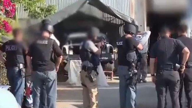 Mil pandilleros arrestados en todo el país