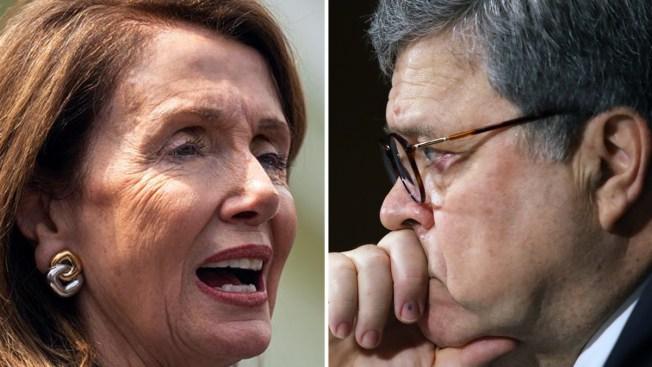 """Pelosi acusa al fiscal general Barr: """"le mintió al Congreso"""""""