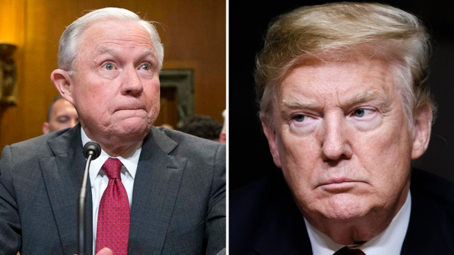 Reporte: Trump ya tendría reemplazo si despide a Sessions