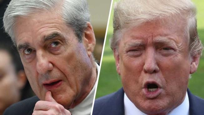 """Trump: """"Tuvimos un muy buen día"""" en comparecencia de Mueller"""