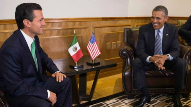 Obama comparte medidas con EPN