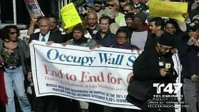 """Apoyan """"Ocupas"""" en Nueva York"""