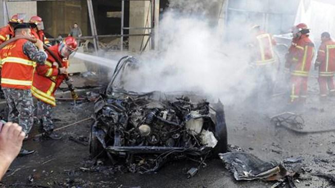 Carro bomba mata a exministro en Beirut