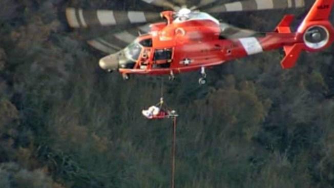 Mujer cae 500 pies en Mount Hamilton