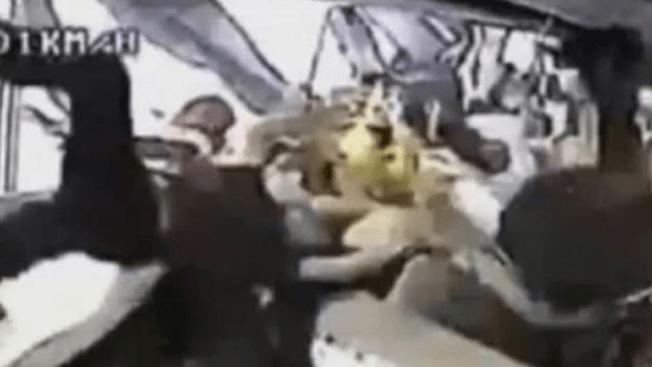 Captan brutal accidente de autocar