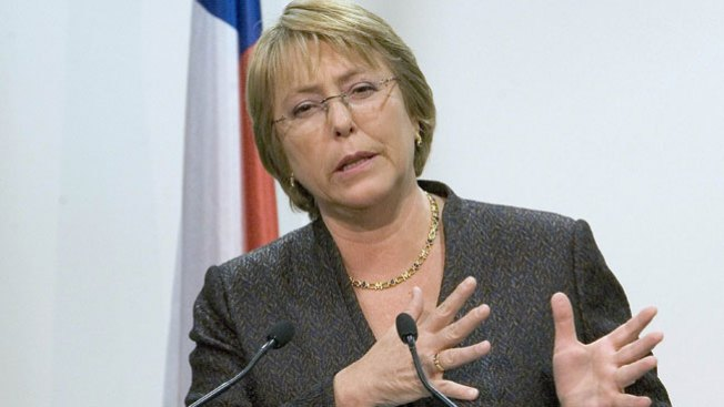 Michelle Bachelet asume la presidencia