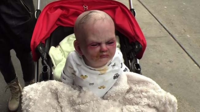 Bebé diabólico aterroriza a Nueva York
