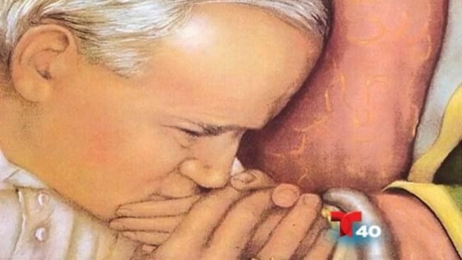 """El Papa,""""feliz"""" por canonizar a J. Pablo II"""