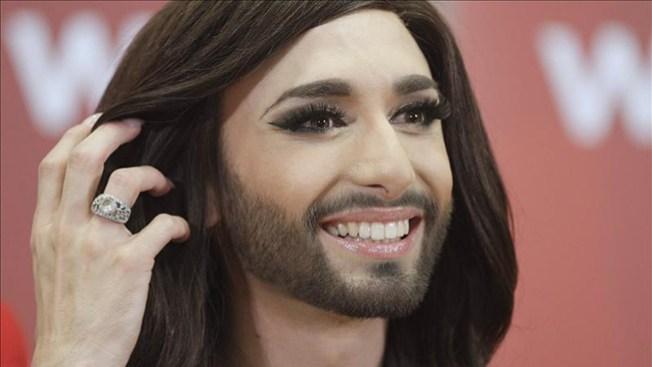 """""""La mujer barbuda"""" gana Eurovisión"""