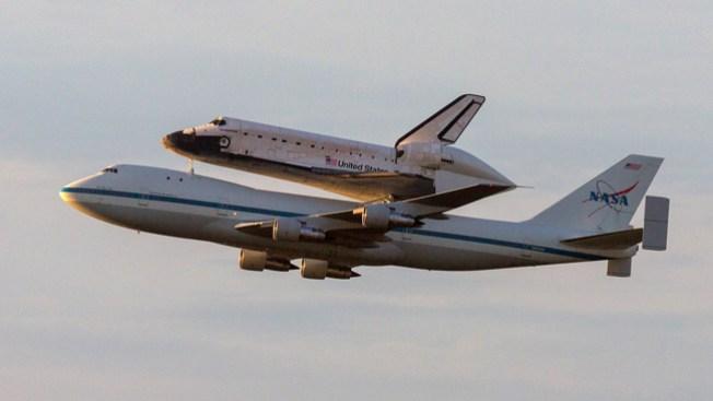 ¿Por dónde volará Endeavour?