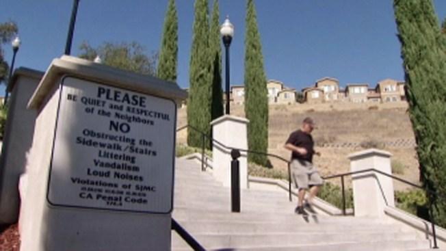 Escaleras se convertirán en parque