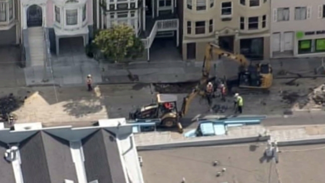 Fuga de gas en San Francisco