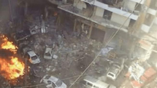 Mueren dos en explosión de escuela