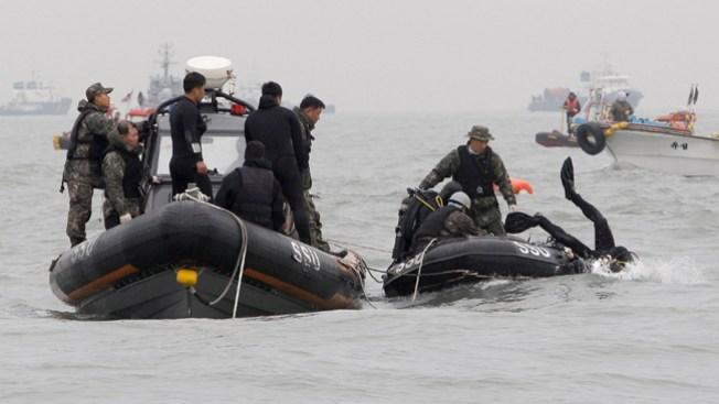 Hallan 3 cuerpos en el interior del ferry
