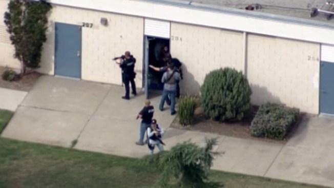 Posible sospechoso armado en escuela