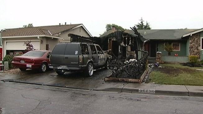 Cinco desplazados por fuego en Fremont