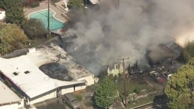 Incendio en San José destruye una casa
