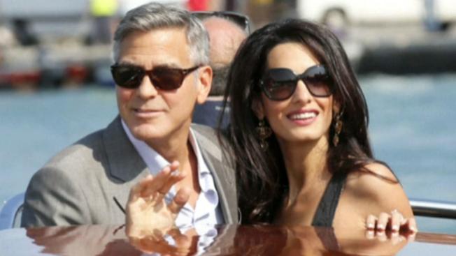¡George Clooney, finalmente casado!