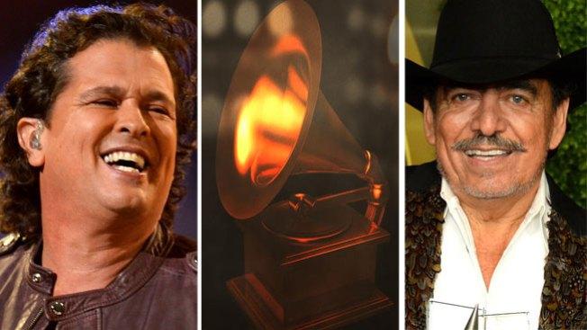 Los latinos nominados al Grammy