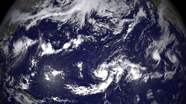 """Huracán """"Iselle"""" amenaza a Hawaii"""