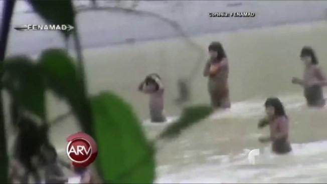 Sorpresa por indígenas aislados en Perú