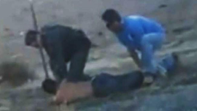 Video muestra golpiza a inmigrante