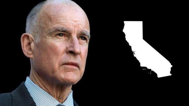 Jerry Brown anuncia reelección