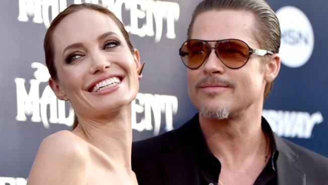 Jolie y Pitt se casaron en Francia