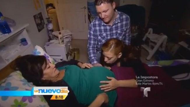 Habla madre que dará luz a su nieta